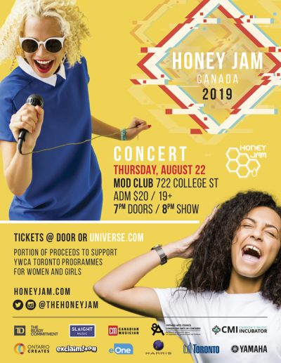 Honey Jam Concert Aug 22