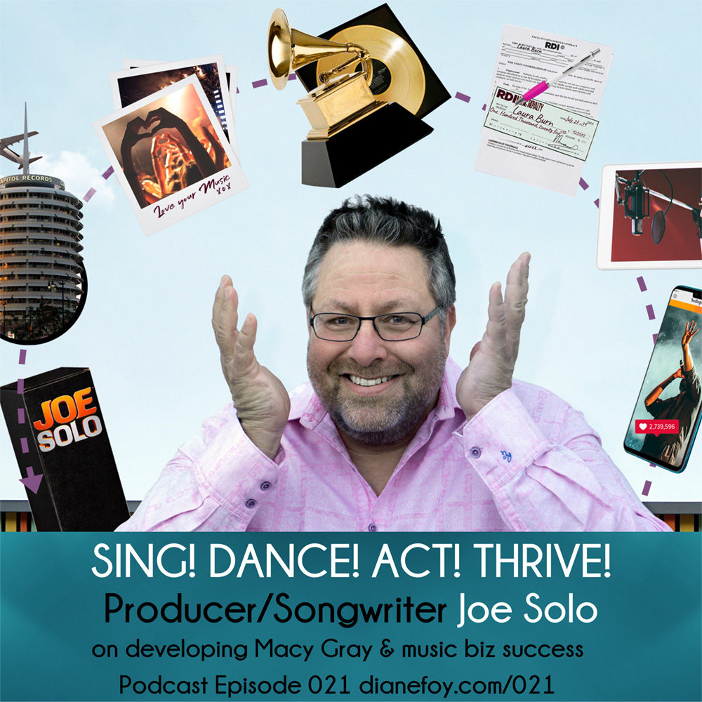 Producer Joe Solo on Sing! Dance! Act! Thrive!