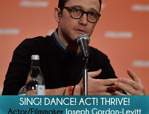Actor Joseph Gordon-Levitt on HitRecord on Sing! Dance! Act! Thrive!
