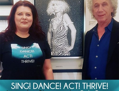 Legendary Rock Photographer Bob Gruen on Sing! Dance! Act! Thrive! Podcast