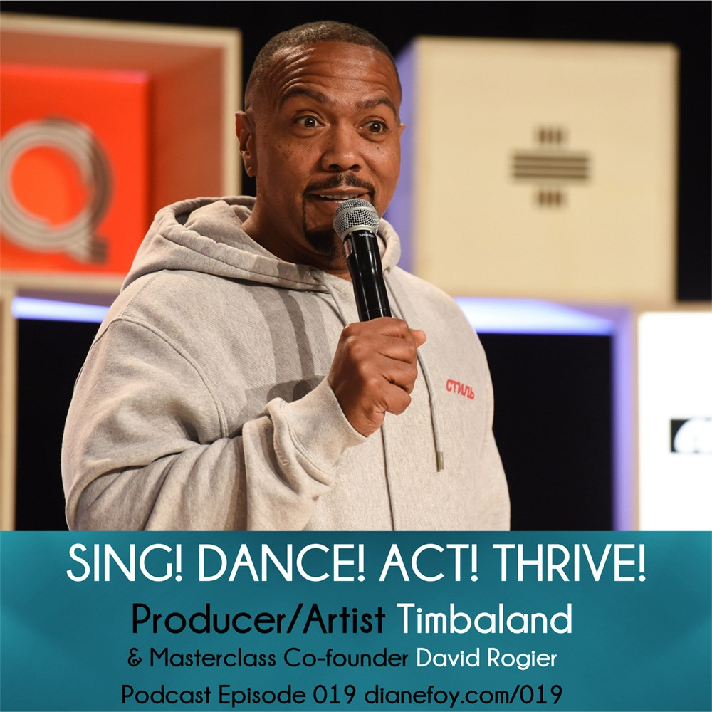 timbaland producer sing dance act thrive podcast