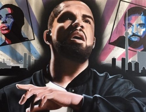 Drake Painting by Stickman to Debut at Toronto Liss Gallery