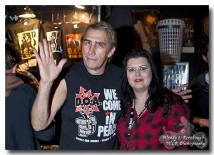 Diane Foy with Joe Keithley