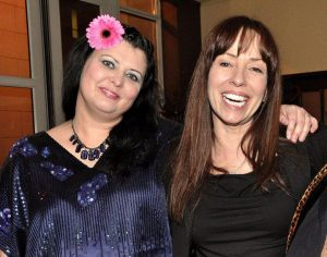 Diane Foy with Mackenzie Phillips